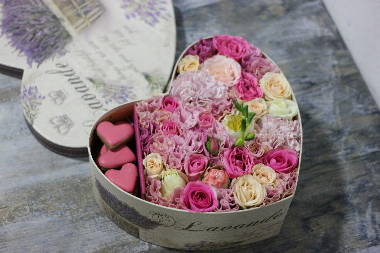 Цветы в коробке своими руками, 3 идеи 43
