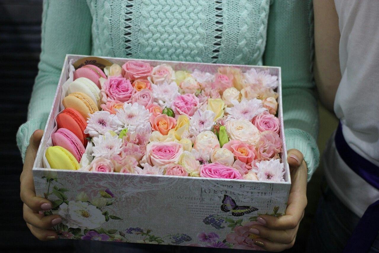 Роза в коробке своими руками 53